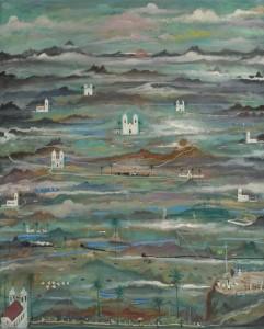 """""""Paisagem imaginante"""", osm, 1955"""