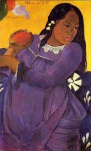 Gauguin_taitianacomamanga_1892